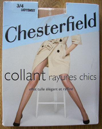 photo collant chesterfield rayures chics