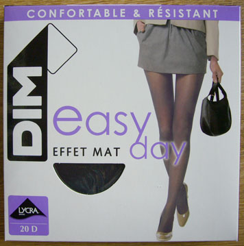 collant dim mousse easy day noir