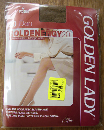 photo collant golden lady goldenergy