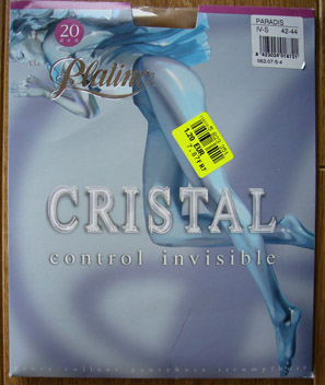 photo collant platino cristal control invisible