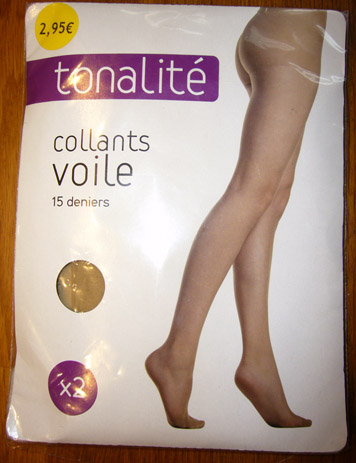 photo collant tonalite beige