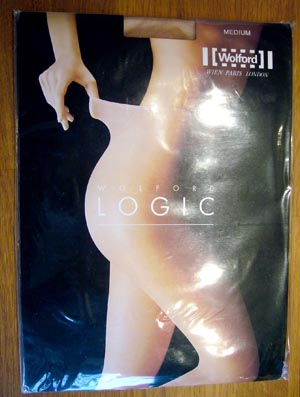 collant Wolford Logic gobi taille 3 (medium)