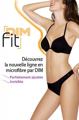 lingerie dim fit microfibre
