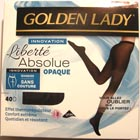 collant golden lady liberté absolue opaque