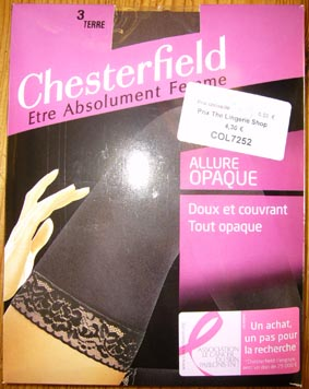 collant legging bas chesterfield allure opaque