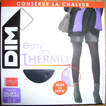 collant bas dim easy day thermo