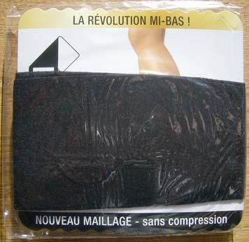 collant legging bas dim sublim voile mat noir