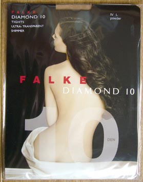 collant bas falke diamond 10