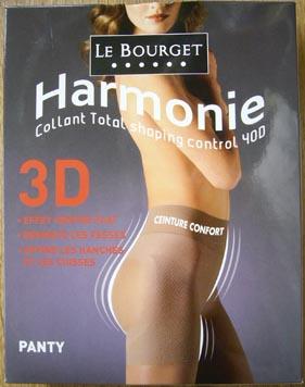 collant legging bas le bourget harmonie 3D