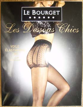 collant legging bas le bourget dessous chic shorty
