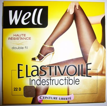 collant legging bas well elastivoile indestructible