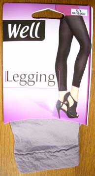 collant legging bas well opaque